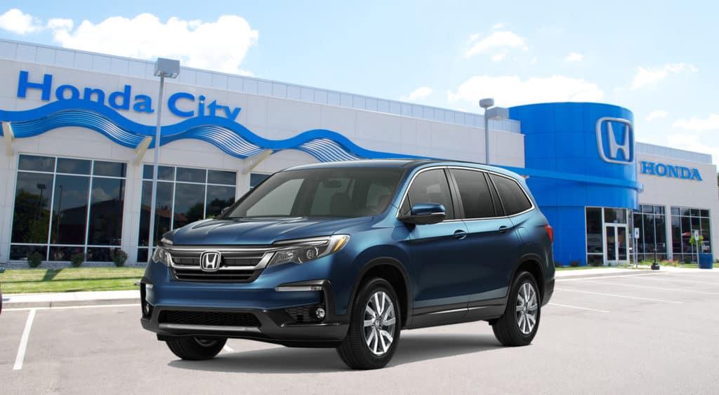 New 2021 Honda Pilot EX All Wheel Drive Sport/Utility
