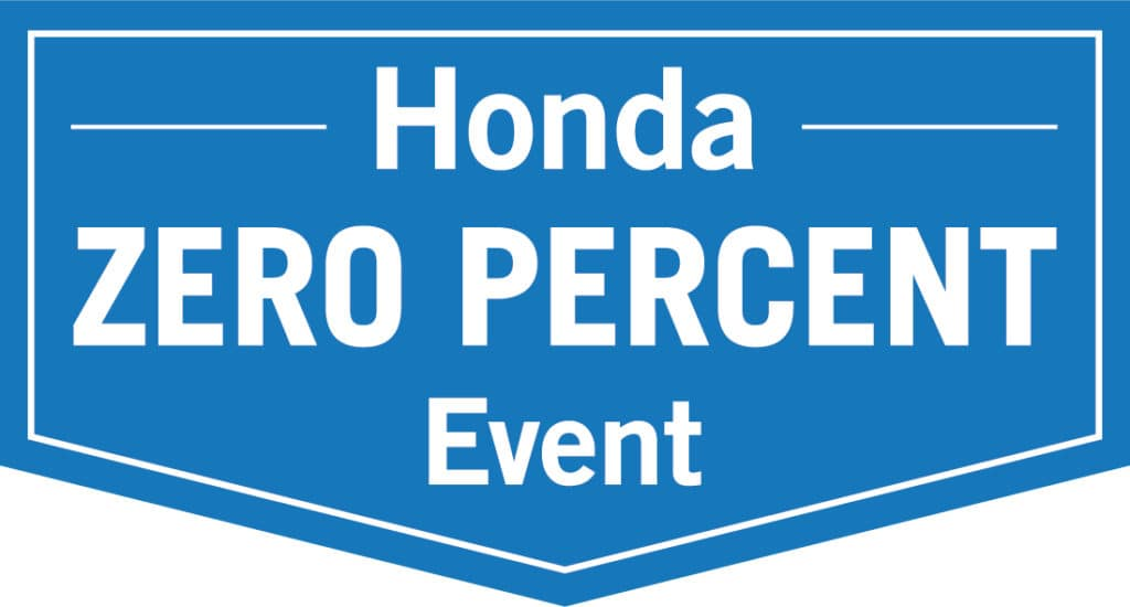 Honda Zero Percent Event