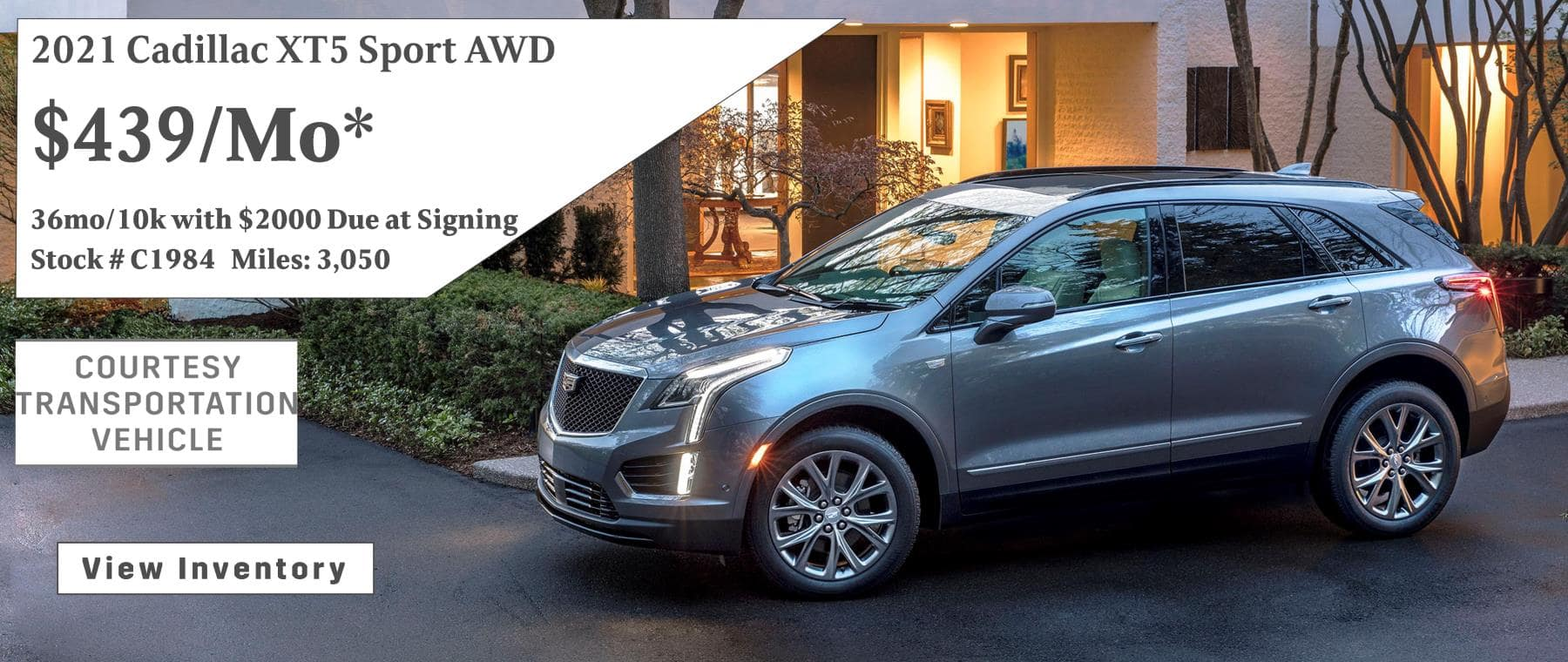 June 2021 XT5 Lease Special $439/mo*