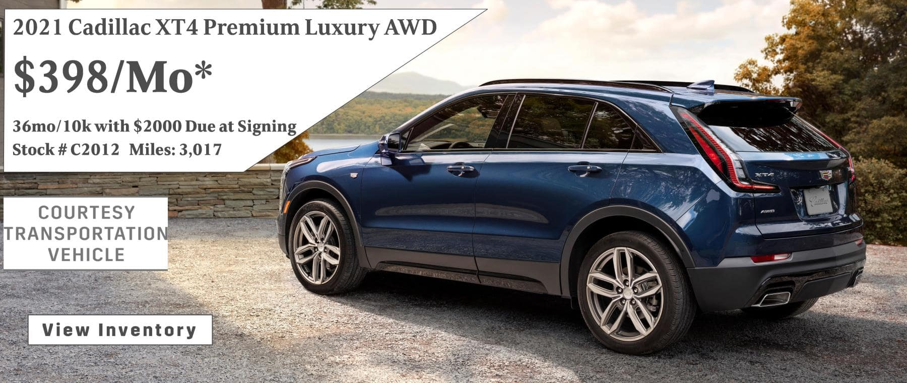 May XT4 Lease Special $398/mo*