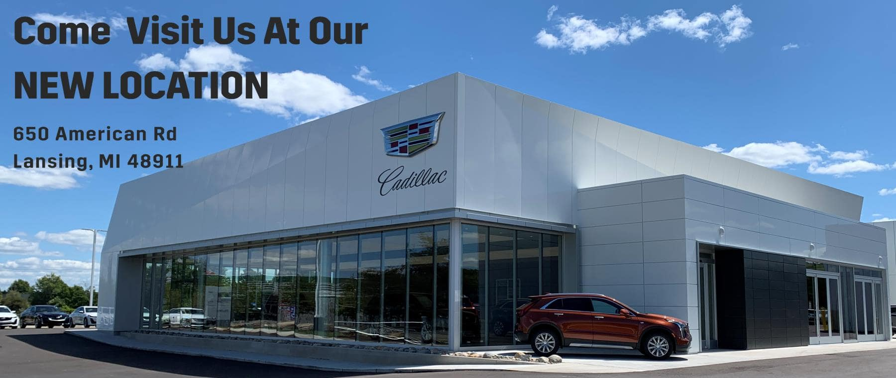 Visit us at our new location 632 American Rd Lansing, MI 48911