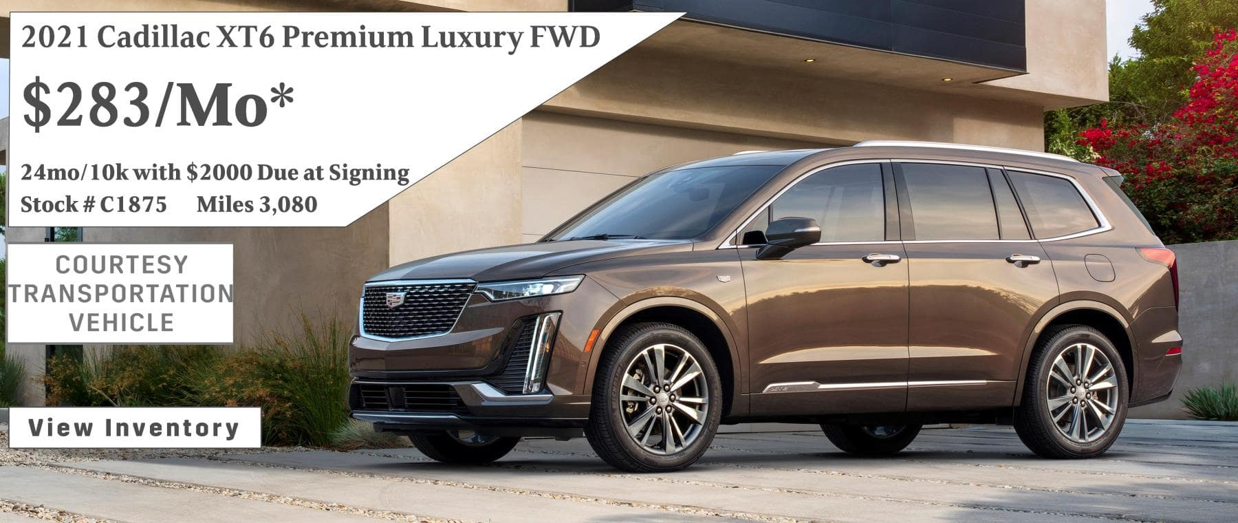 March Cadillac XT6 Lease Special $283/mo*