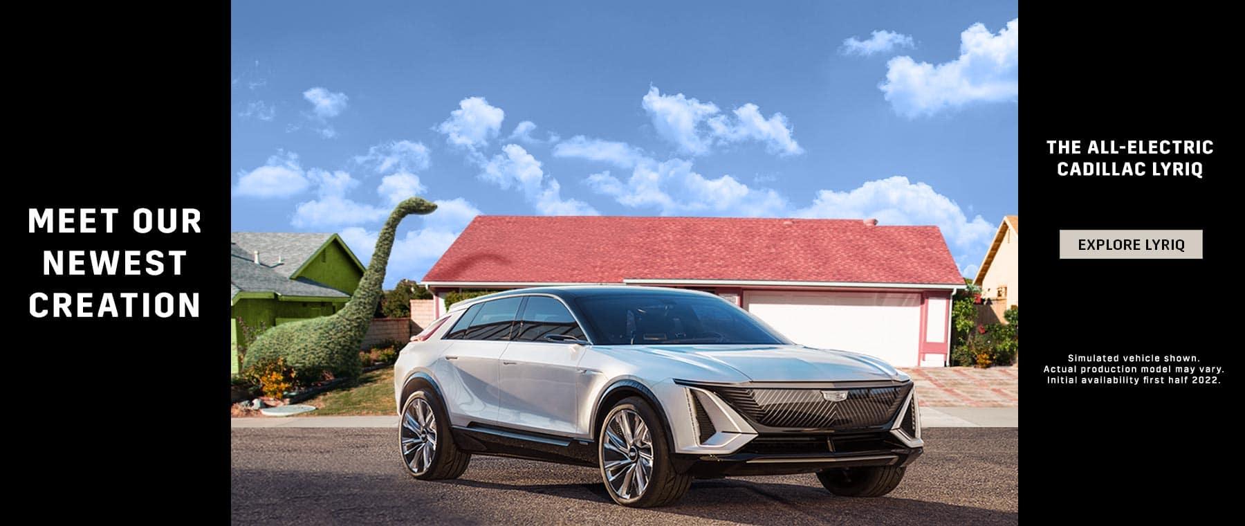 New Cadillac Lyriq