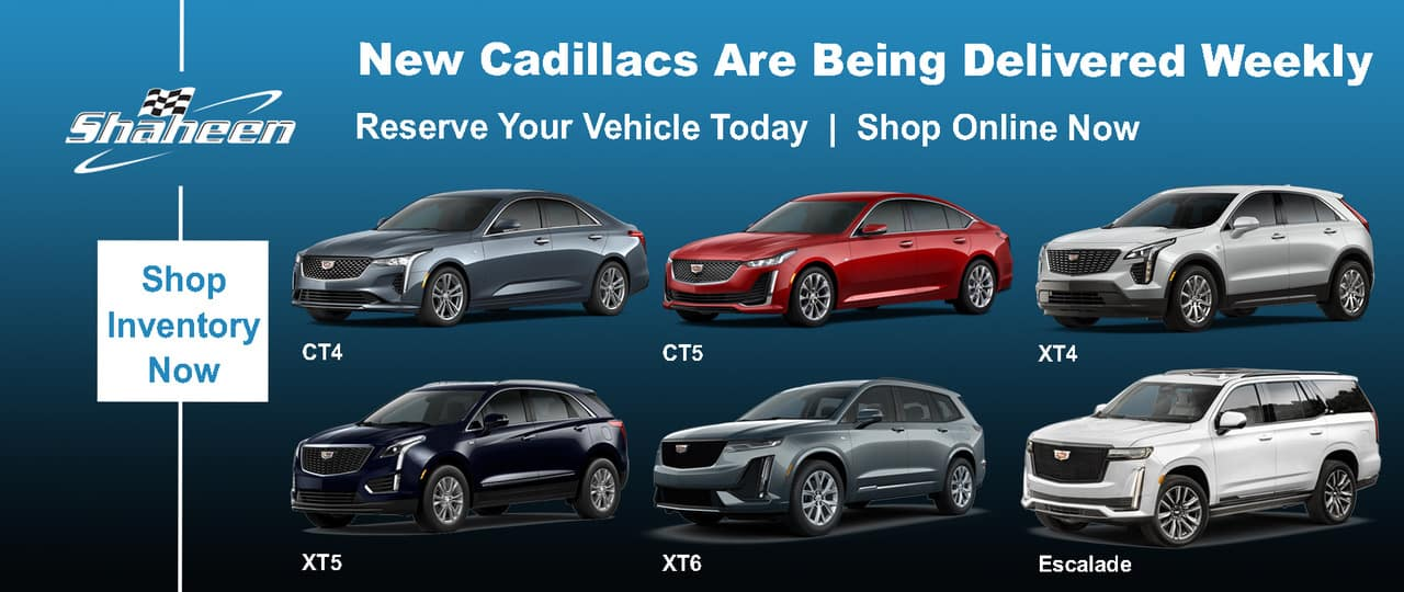 Reserve Your New Cadillac