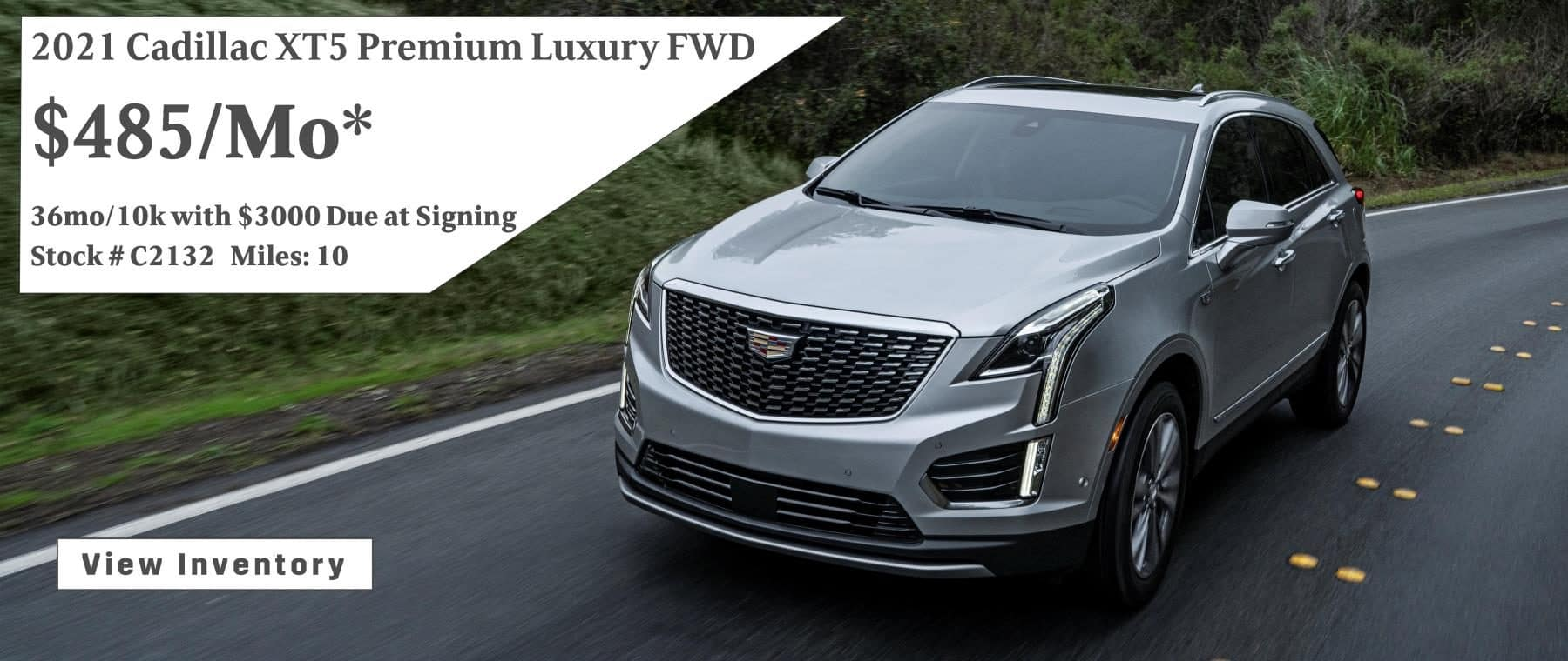 September 2021 XT5 Lease Special $485/mo*