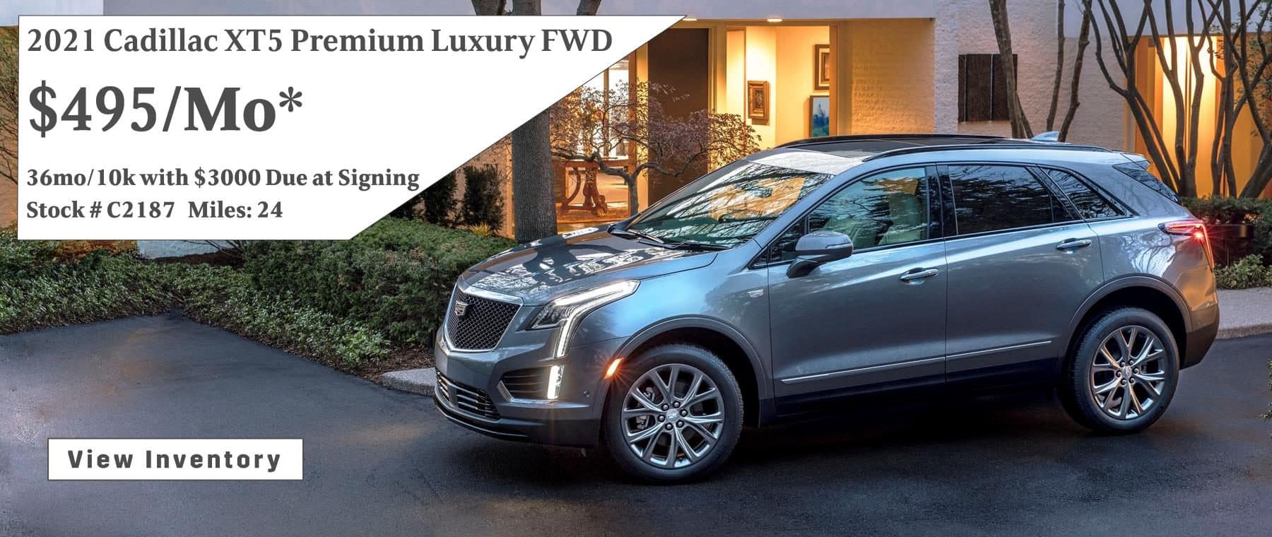 October 2021 XT5 Lease Special $495/mo.*