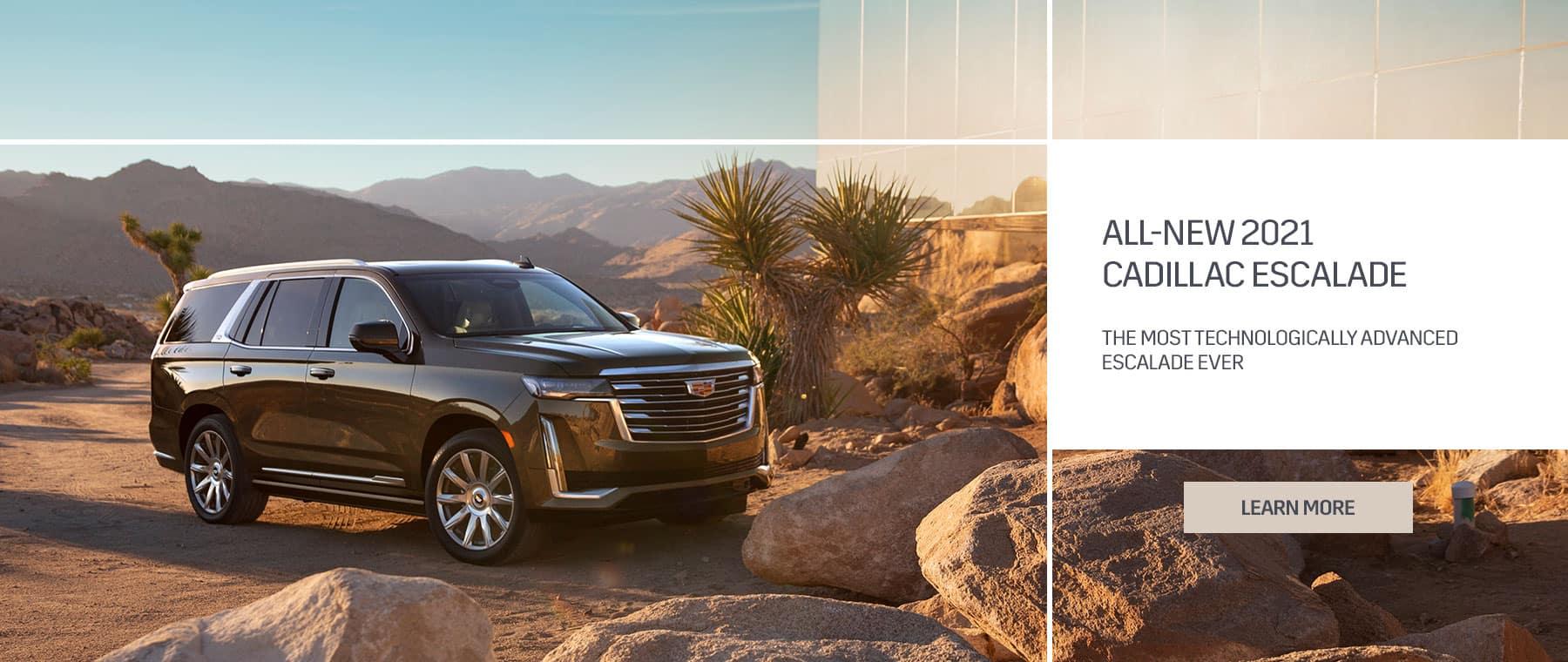 All-New 2021 Cadillac Escalade