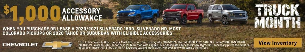 Truck Month Offers