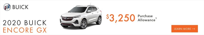 10/2020 Buick Encore GX Offer
