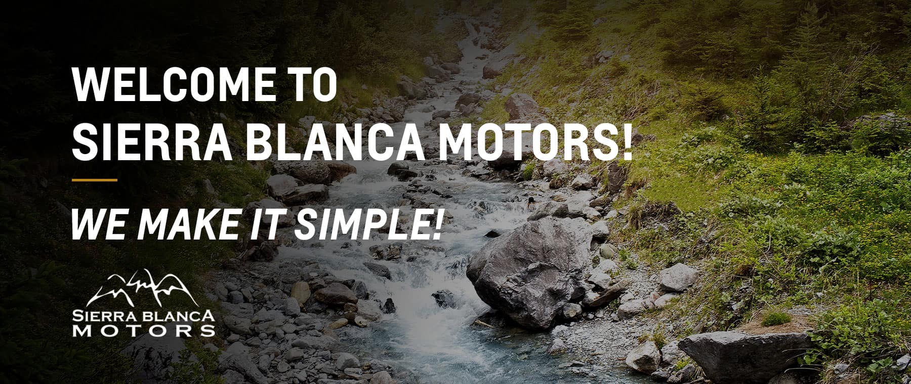 Welcome to Sierra Blanca Motors