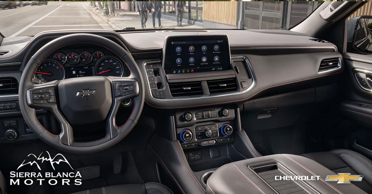 2021 Tahoe Dashboard and Interior