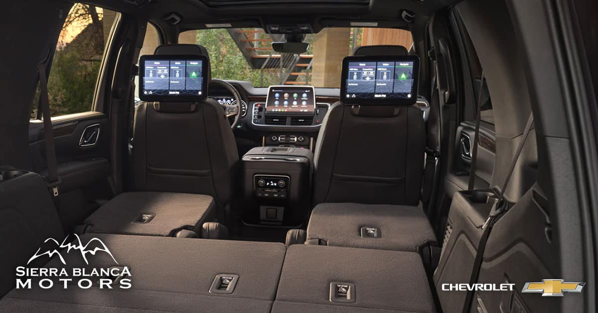 2021 Chevrolet Tahoe Interior Technology and Storage