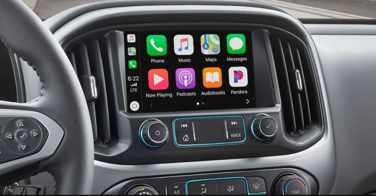 2021 Chevrolet Colorado Display Screen