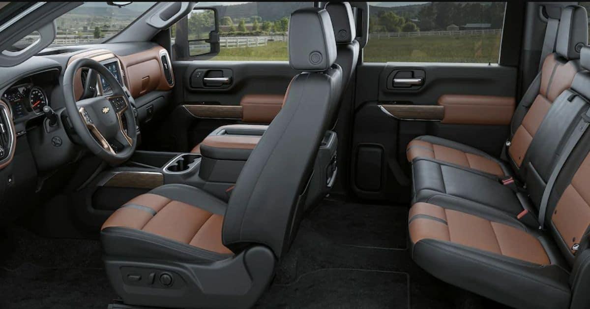 2021 Chevrolet Silverado 2500 Interior