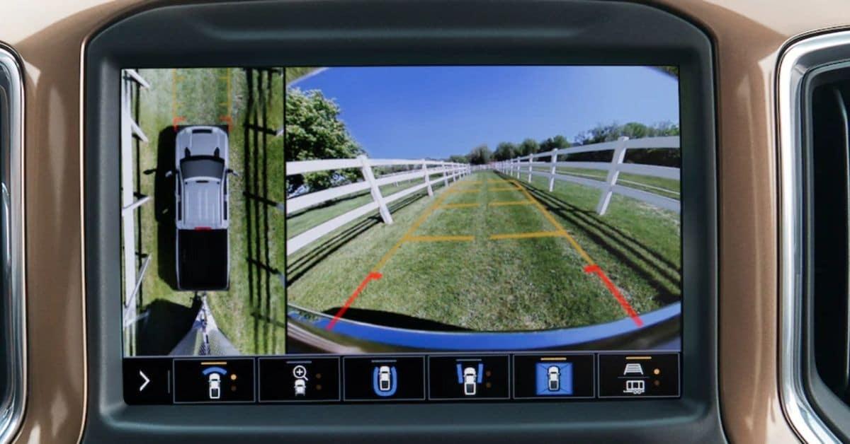 2021 Chevrolet Silverado 2500 Trailer Camera Display Screen