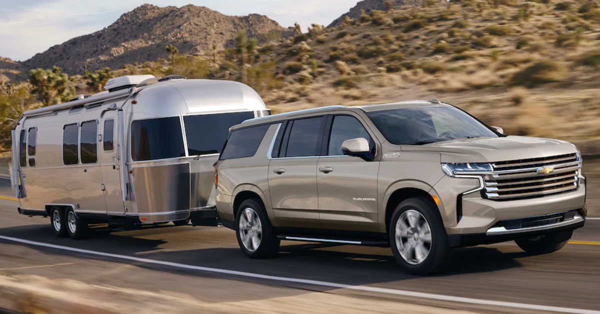 2021 Chevrolet Suburban Towing A Camper