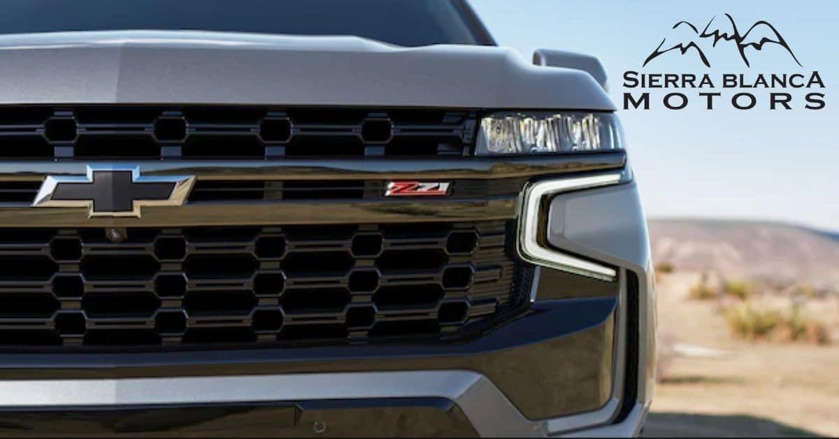 2021 Chevrolet Suburban Z71 Grill