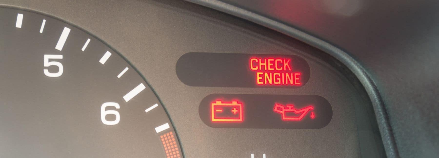 Check Engine Light | Oil Change Light | Change Battery Light | Auto Repair Near Roswell, NM