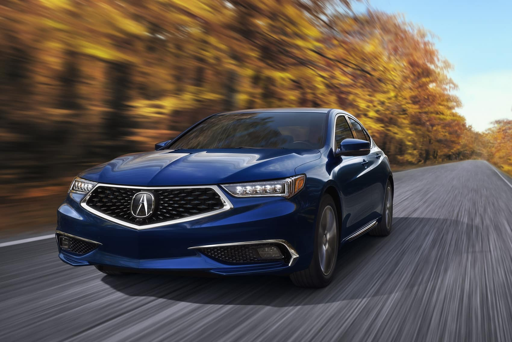 Acura TLX Driving