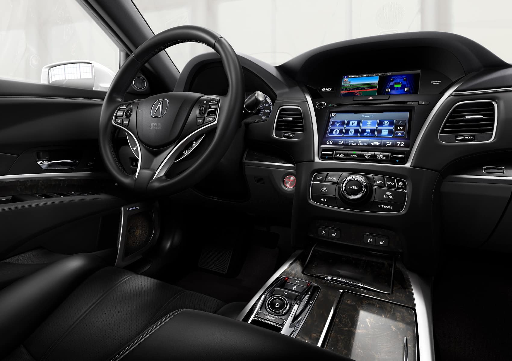 2019 Acura RLX Interior Technology