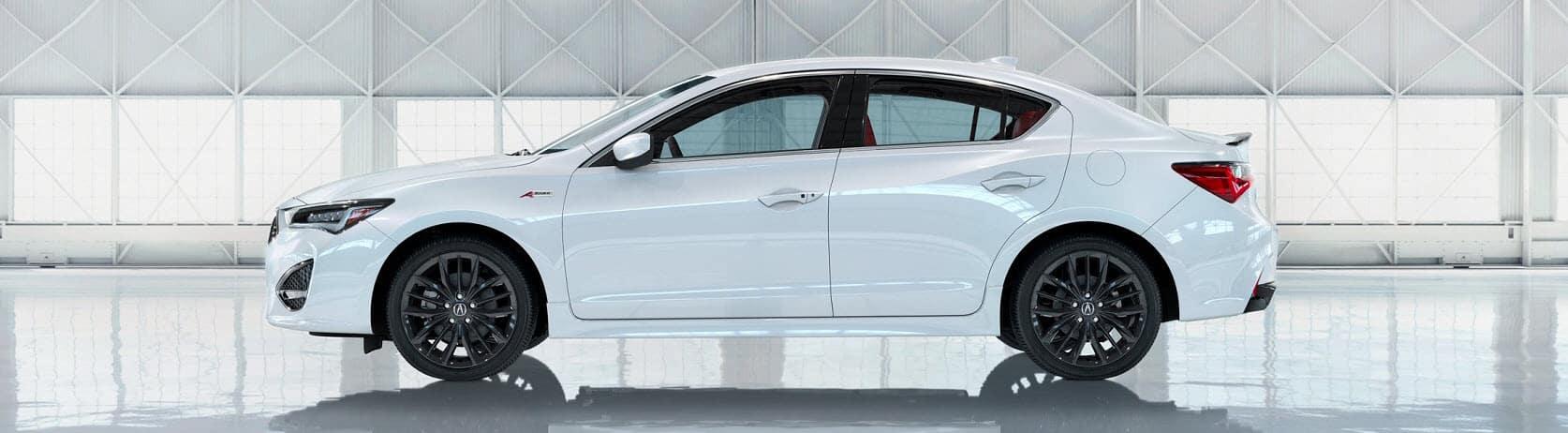 White 2019 Acura ILX Warwick RI