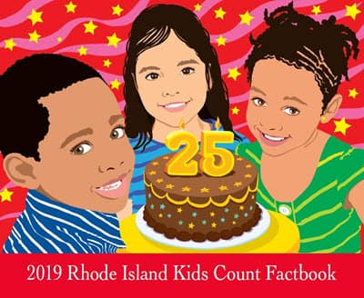 Rhode Island Kids Count Factbook Cover