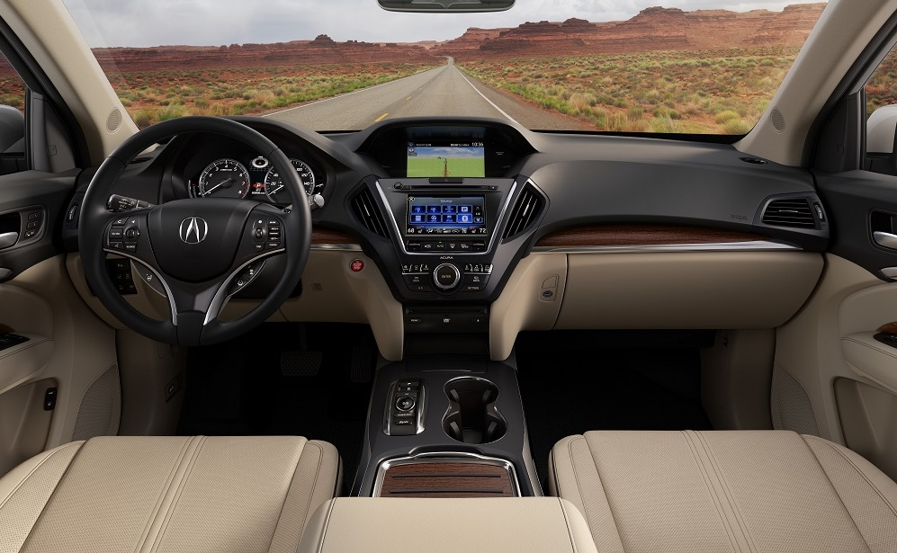 Acura MDX Interior Technology