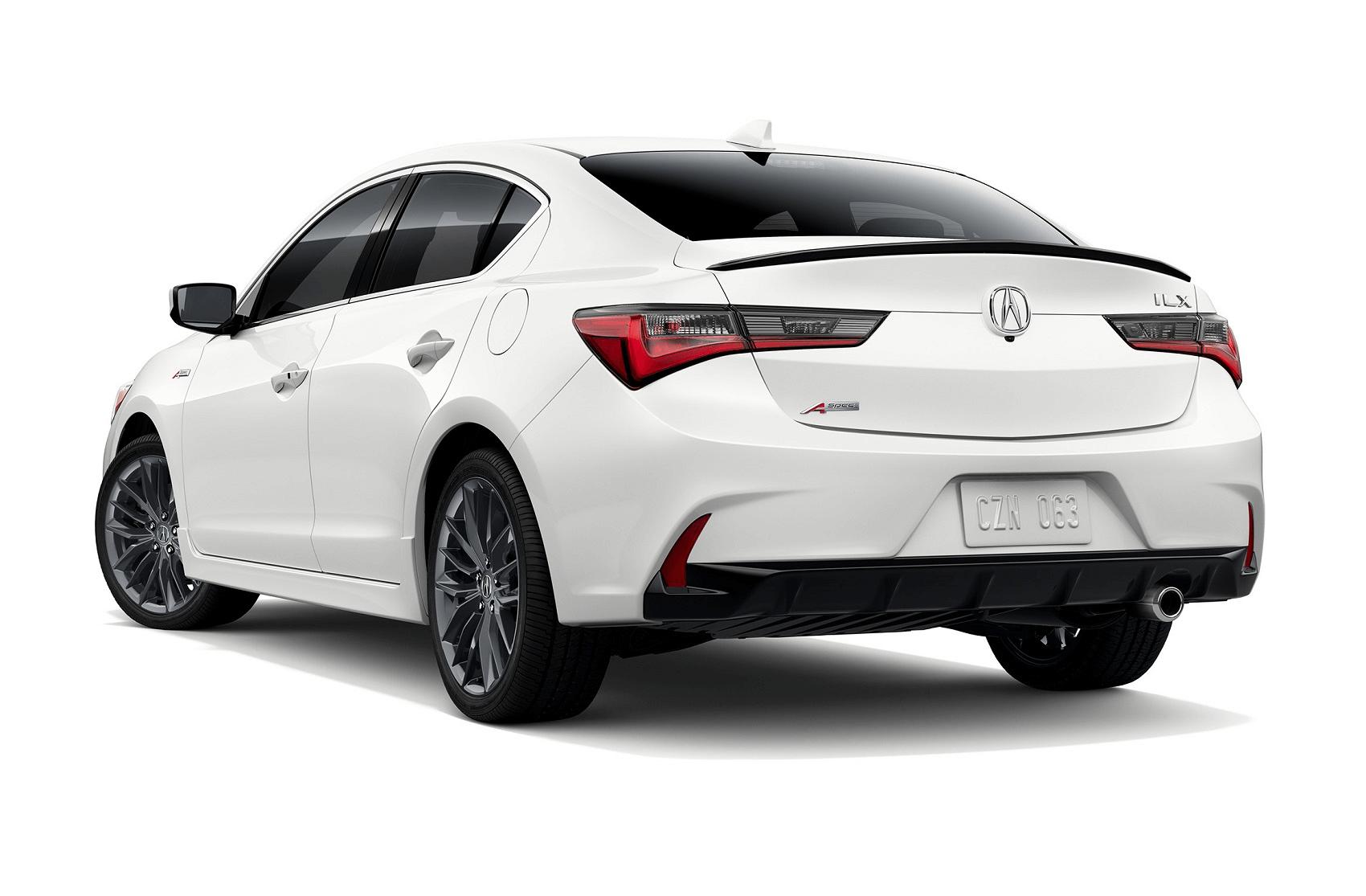Acura IlX Platinum White