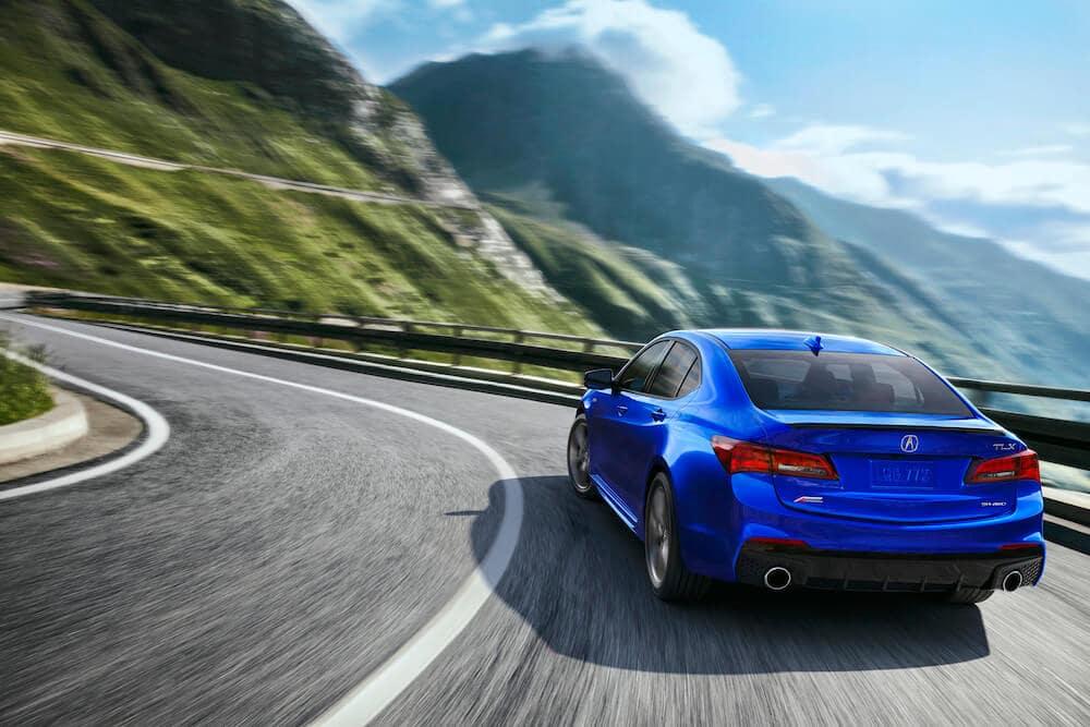 2020 Acura TLX Apex Blue Pearl