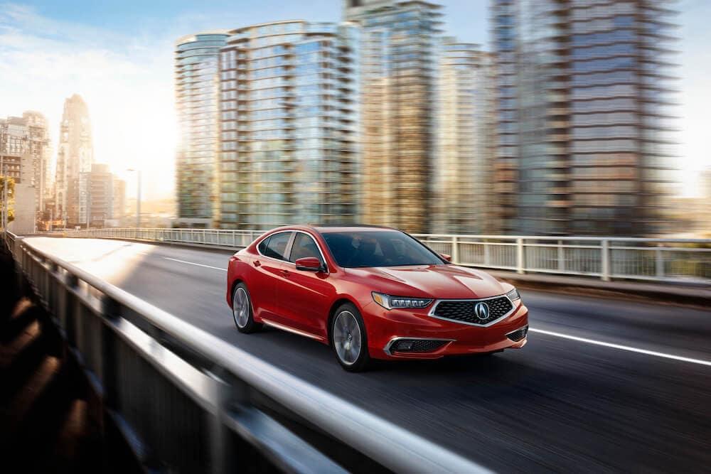2020 Acura TLX San Marino Red