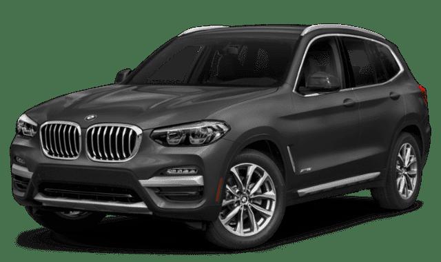 Gray 2019 BMW X3