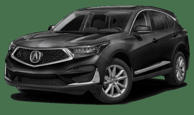 Black Acura RDX