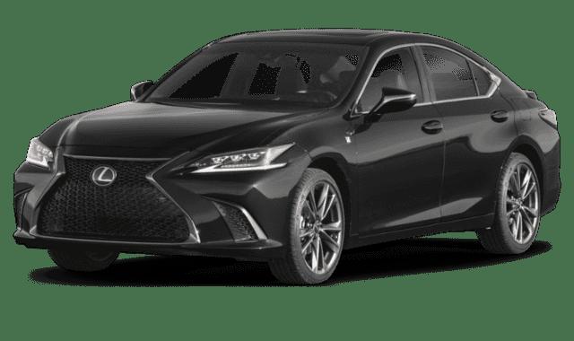 Black 2019 Lexus ES 350