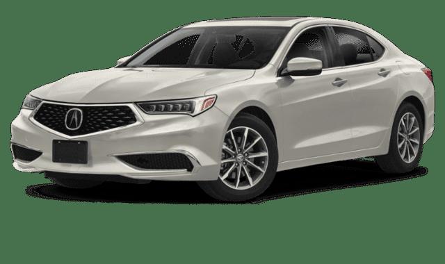 White 2020 Acura TLX