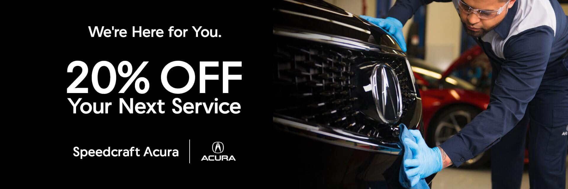 Speedcraft Acura 20% Discount on Service Special