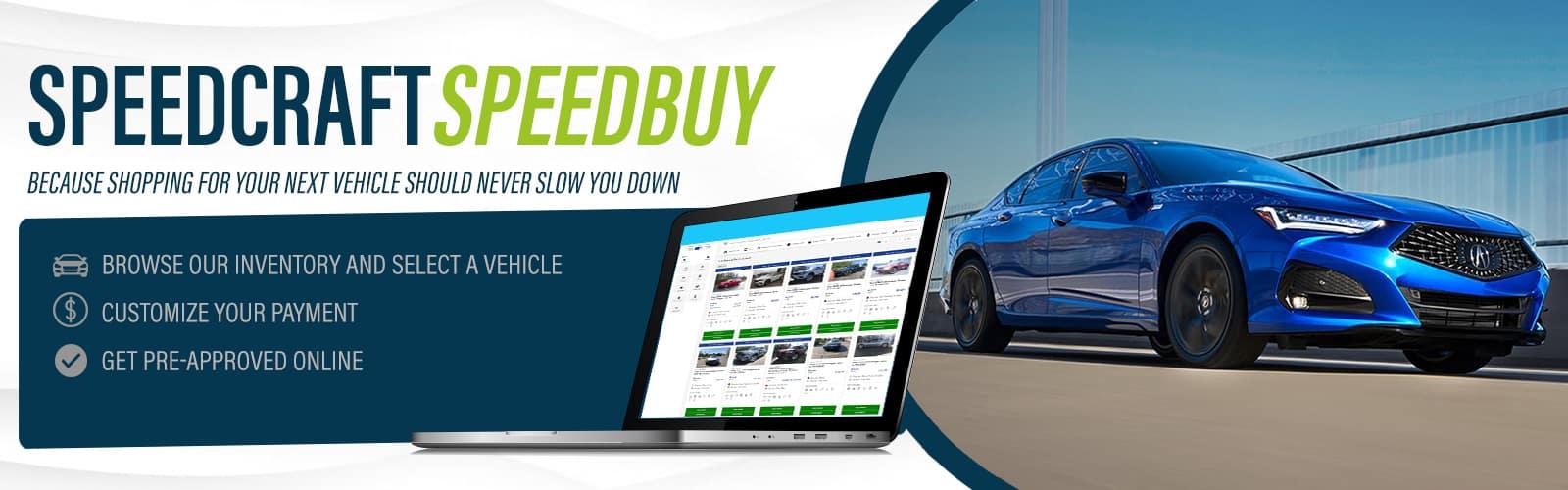 Acura Speedcraft Speedbuy