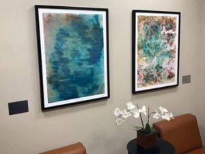 Artlifting in client waiting areas gallery Sunnyside Acura Nashua NH