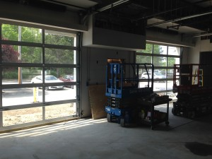 service drive in - renovation - Sunnyside Acura Nashua, NH