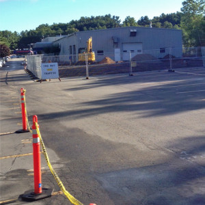 September 14, 2015 - The foundation excavation for the addition to the Service Department has begun. When coming in for service it is business as usual. Please park to the right of the building in the service client parking area and we'll take it from there.