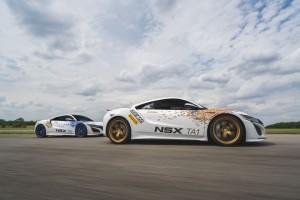 2017 Acura NSX to Race at Pikes Peak - Side Shot - Sunnyside Acura Nashua, NH
