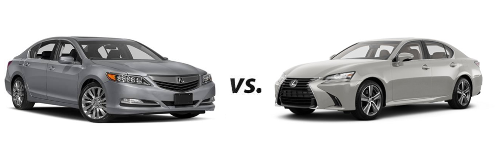 Used Acura RLX vs. Used Lexus GS