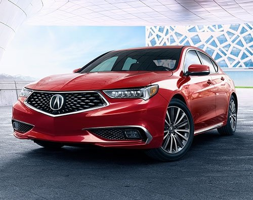 Acura TLX Standard Features And Package Breakdowns - Acura tlx led headlights