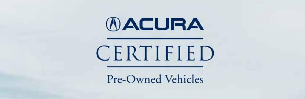 Certified Acura Pre-Owned program at Sunnyside Acura Nashua, NH
