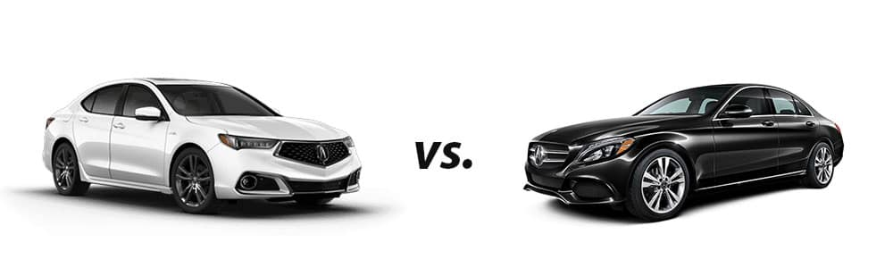 2019 Acura TLX vs. 2019 Mercedes-Benz C 300 Sedan
