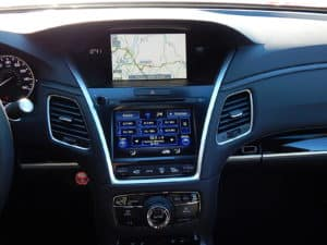 Multi-Function Touch Screen and On Board Display - 2018 Acura RLX Sport Hybrid SH-AWD with Advance Package Sunnyside Acura Nashua, NH
