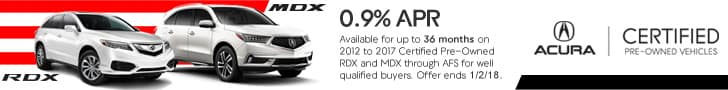 Acura Certified Pre-Owned APR Offer Acura MDX Acura RDX Sunnyside Acura Nashua NH
