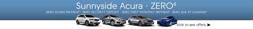 Zero Due Lease Offers Sunnyside Acura Nashua NH
