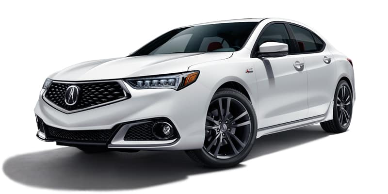 2019 Acura TLX 8-Speed DCT P-AWS with A-Spec Package