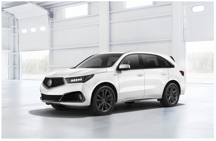 Acura MDX Loyalty Program and Acura MDX Competitor Conquest Program