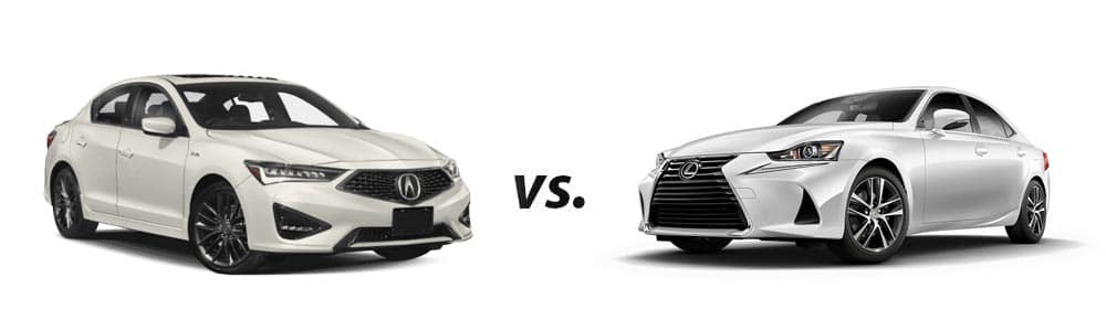 2019 Acura ILX vs. 2019 Lexus IS